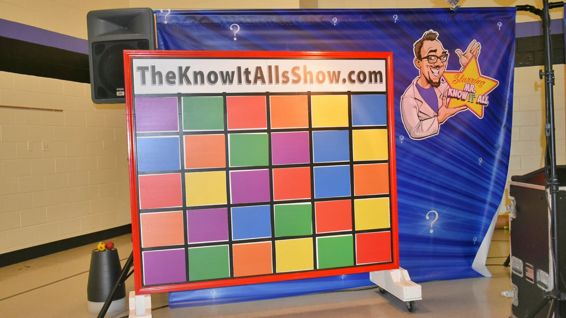 Know It Alls Show Wall of Commotion