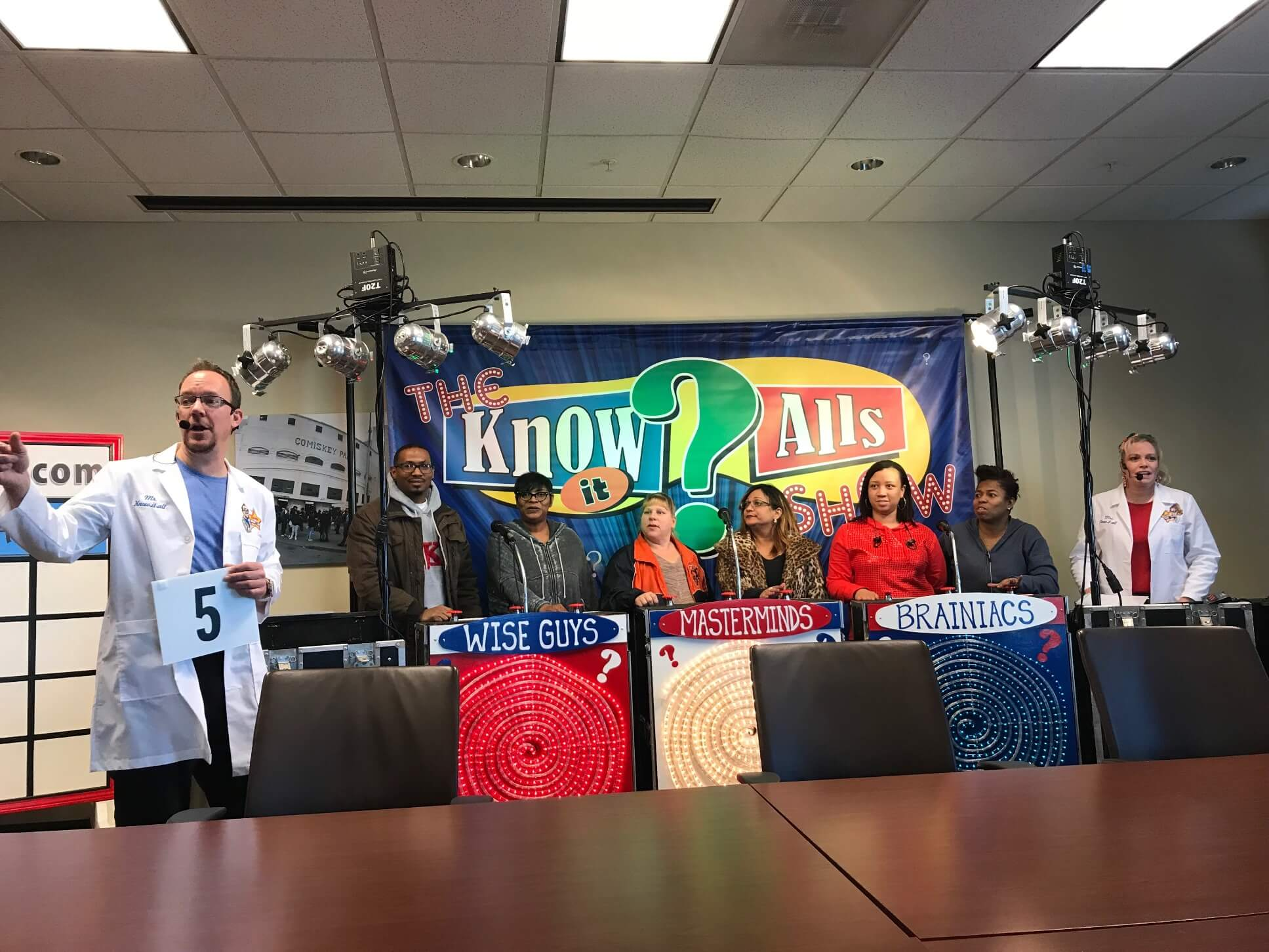 The know it alls show in action